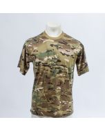 T shirt army korte mouw multicamo