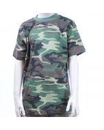 T shirt kinder korte mouw woodland